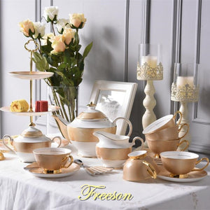 Gold Luxury Tea Set - The Little Tea Boutique