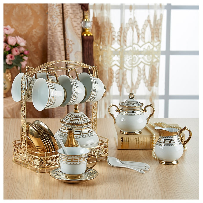 King and Queen Royal Tea Pot Set - The Little Tea Boutique