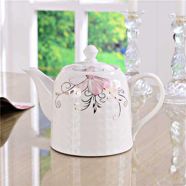 Elegant Flower Tea Set - The Little Tea Boutique