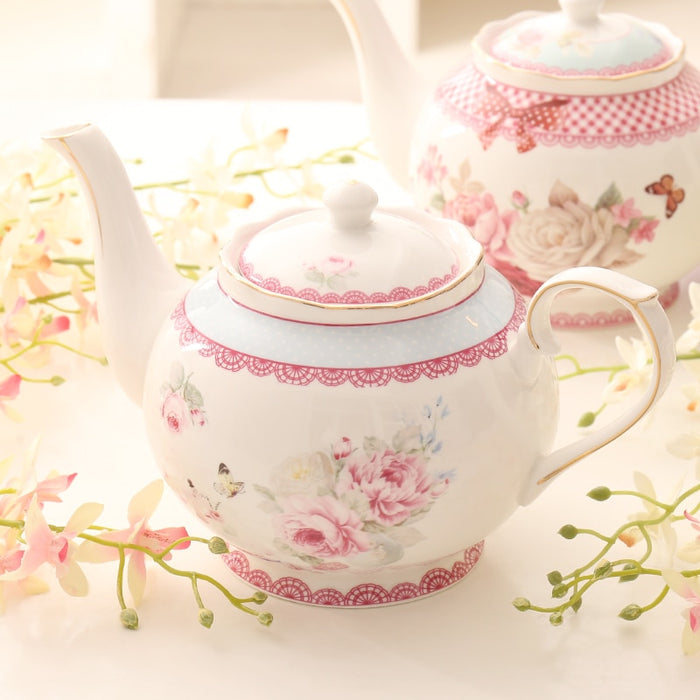 Floral European Modern Teapots - The Little Tea Boutique