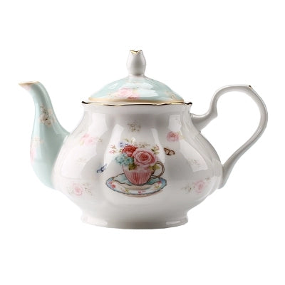 English Style Tea Pot for 6 - The Little Tea Boutique