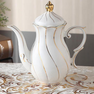 Royal Gold Inlay Tea Pot - The Little Tea Boutique