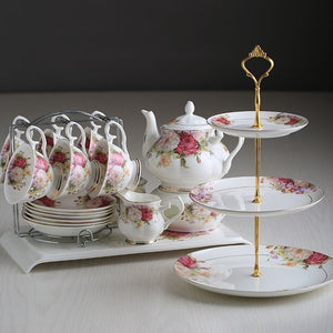 Gorgeous Spring Floral Tea Set - The Little Tea Boutique