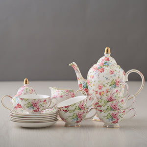 European Style Tea Set - The Little Tea Boutique