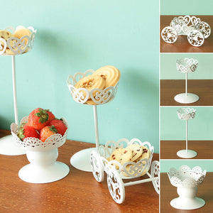 High Tea White Cake Stand - The Little Tea Boutique