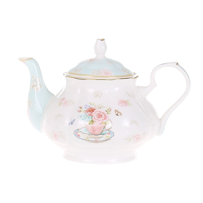 Wedding Gift Flower Teapot - The Little Tea Boutique