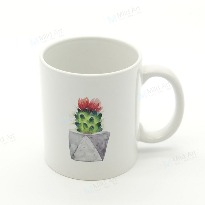 Cactus Flower Tea Mug - The Little Tea Boutique