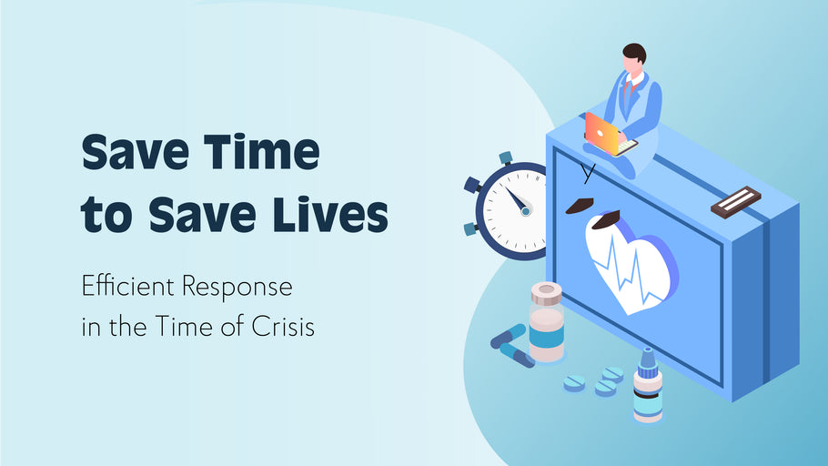 Save Time To Save Lives. Efficient Response in the Time of Crisis