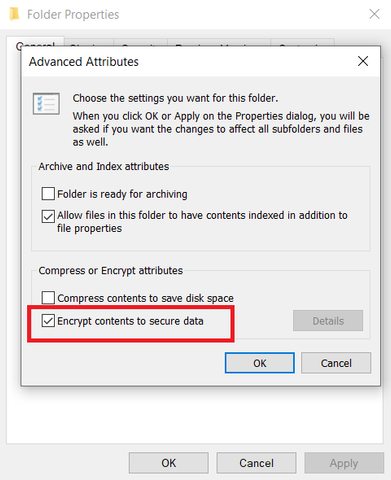 how password protect a folder