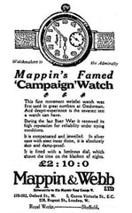 Mappin & Webb watch advertisement