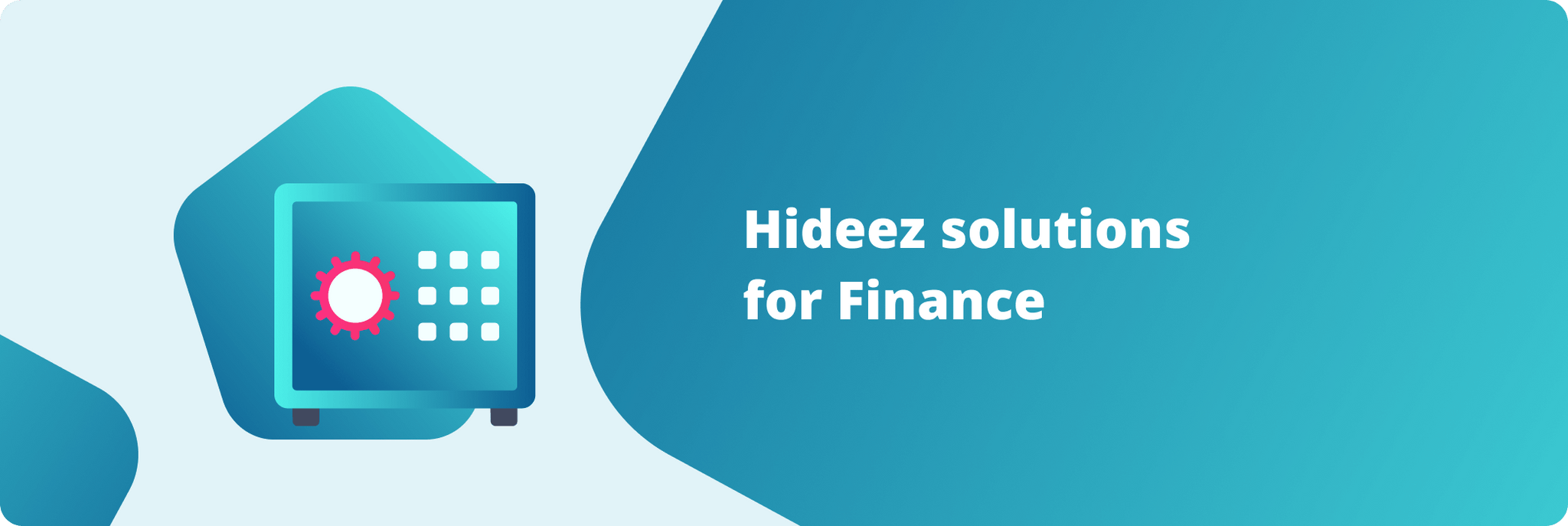 Hideez solutions for Finance