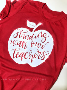Standing with our teachers - Support Teachers