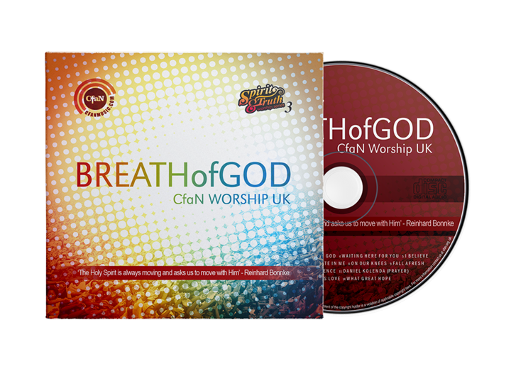 Breath of God Worship (CD)