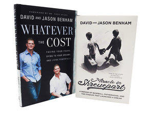 Miracle in Shreveport Book + Whatever the Cost Book