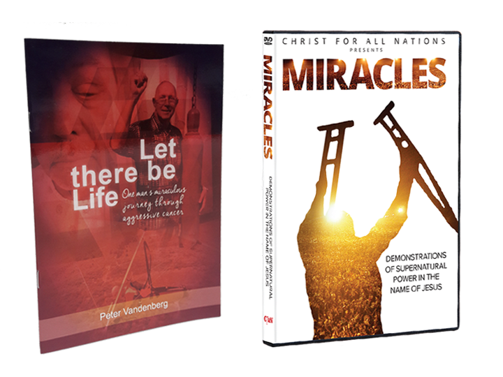Let There Be Life + Miracles DVD