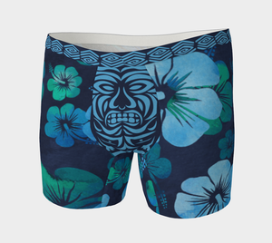 Tiki Tok Tee - Blue Boxer Brief