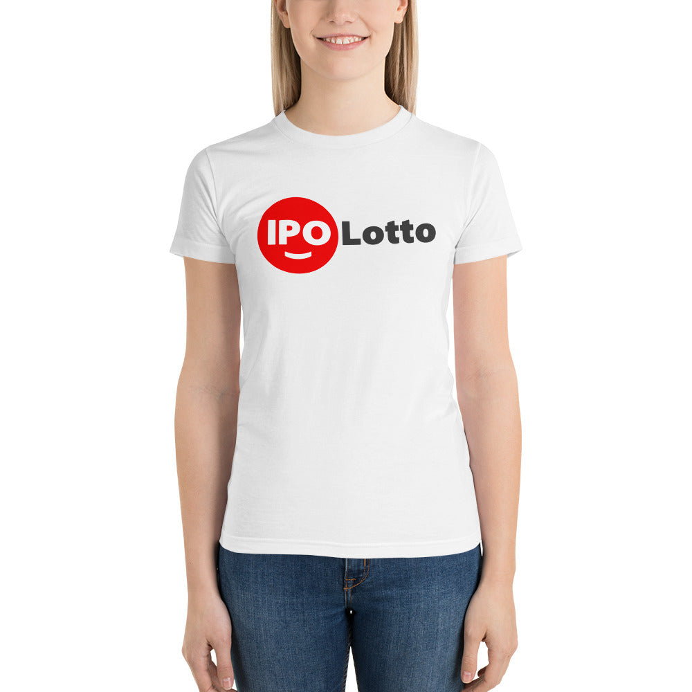 Short sleeve women's t-shirt - IPO Lotto w/ I'ma Scratcher Back