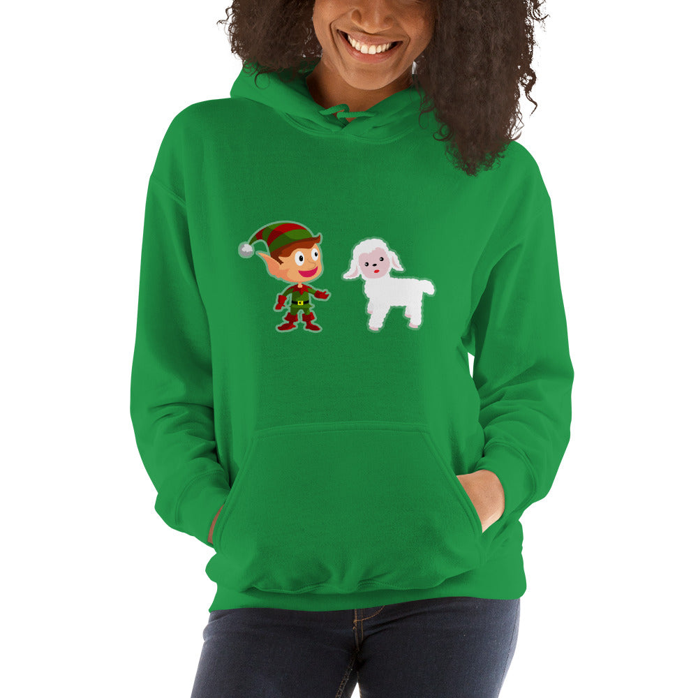 Elf Ewe Hooded Sweatshirt