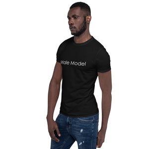 Groomsmen - Male Model Short-Sleeve Unisex T-Shirt