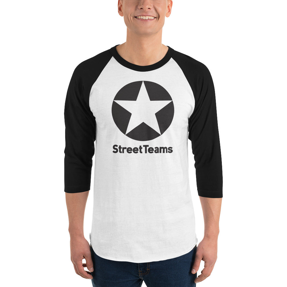 StreetTeams Star 3/4 sleeve raglan shirt