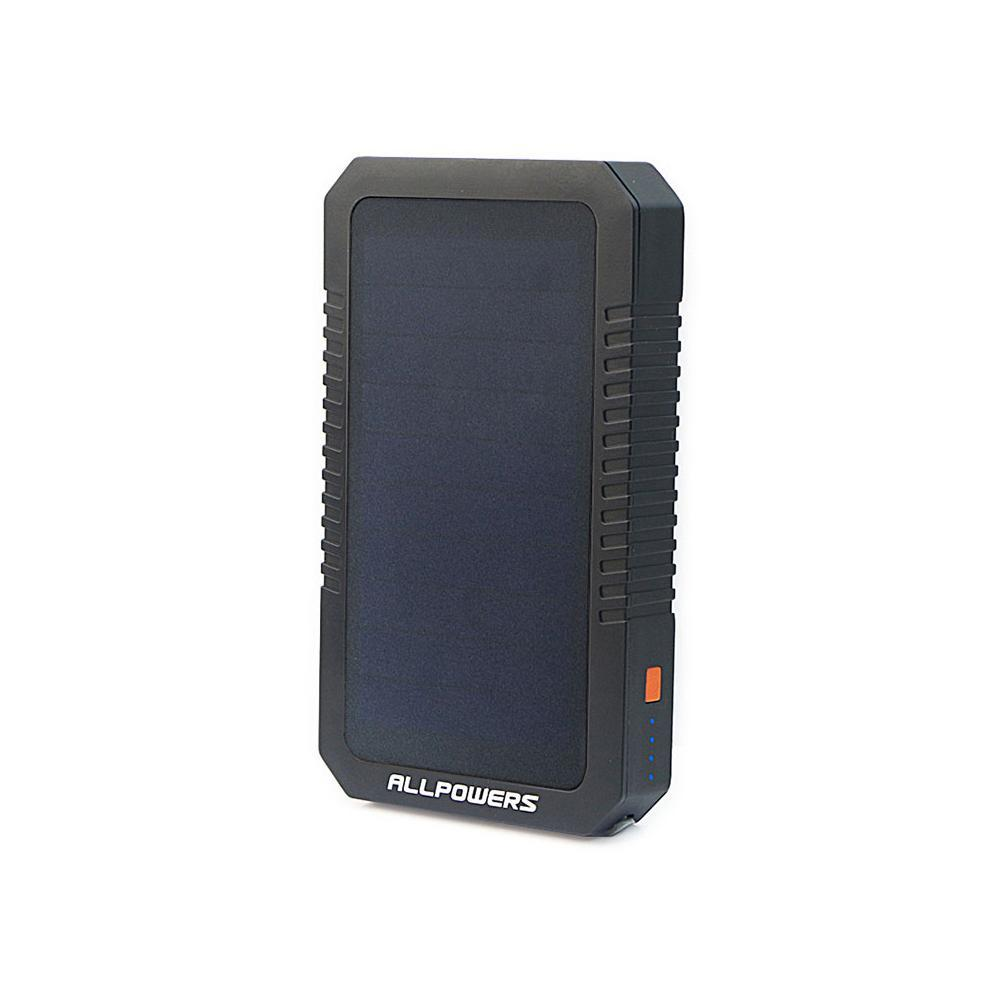 12000 mAh Solar Charging Power Bank