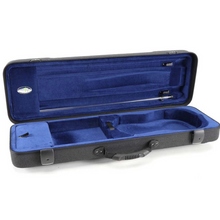 Jakob Winter Violin Oblong Case Greenline Classic with Pocket (Fit for 3/4 and 4/4) Grey