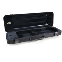 Jakob Winter Violin Oblong Case Greenline Classic with Pocket (Fit for 3/4 and 4/4) Black