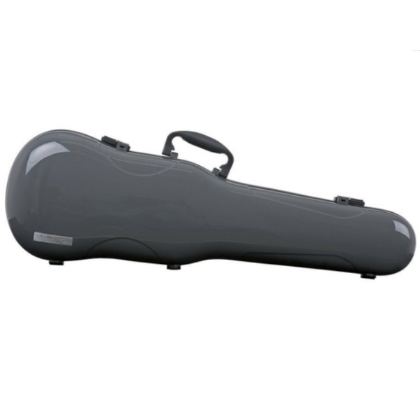 Gewa Violin Air 1.7 Shaped Case Grey High Gloss