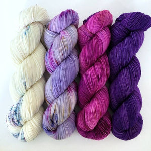 MAHALO Kit Signature Sock Yarn for The Slow Curves Shawl