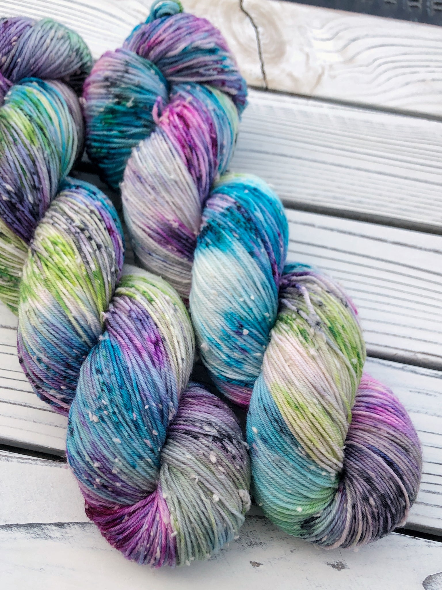 Mermaid · Tweed Sock Yarn