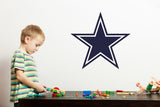 Dallas Cowboys Logo Wall Decal | Cowboys Logo Walldecal