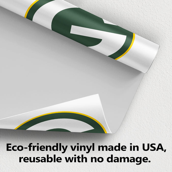 Green Bay Packers Logo Wall Decal Egraphicstore