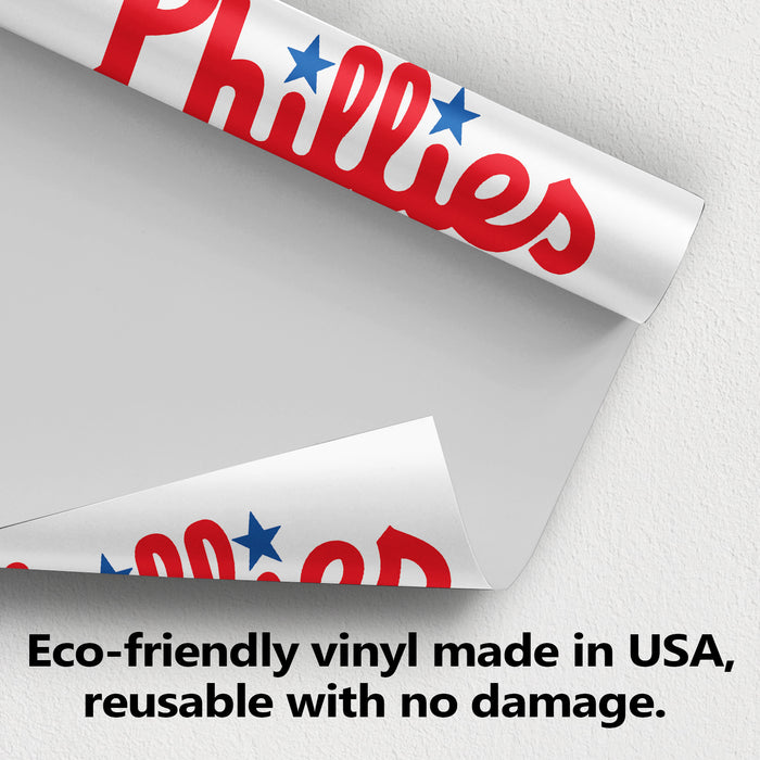 Philadelphia Phillies Logo Wall Decal