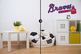 Atlanta Braves Logo Wall Decal