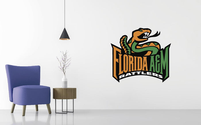 Florida A&M Basketball NCAA Wall decal Sticker