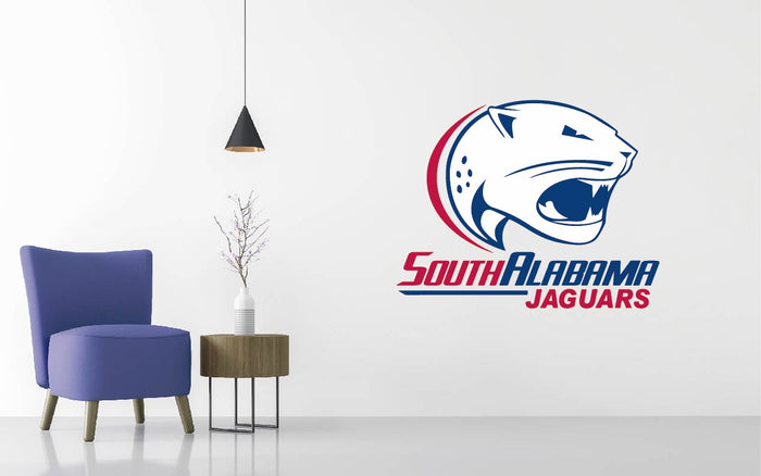South Alabama Football NCAA Wall decal Sticker