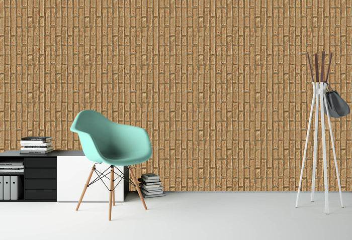 Old Vertical Brick Wallpaper (R1056)