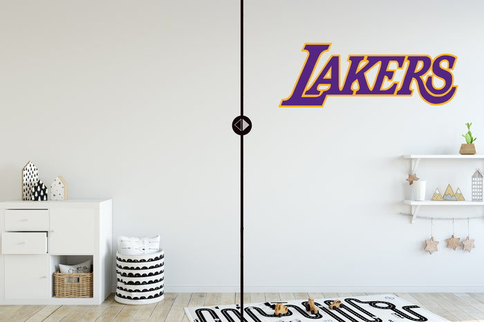 Lebron James Los Angeles Lakers Fathead 11 Pack Life Size Removable Wall Decal