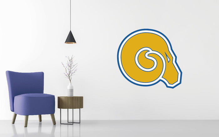 Albany State Basketball NCAA Wall decal Sticker