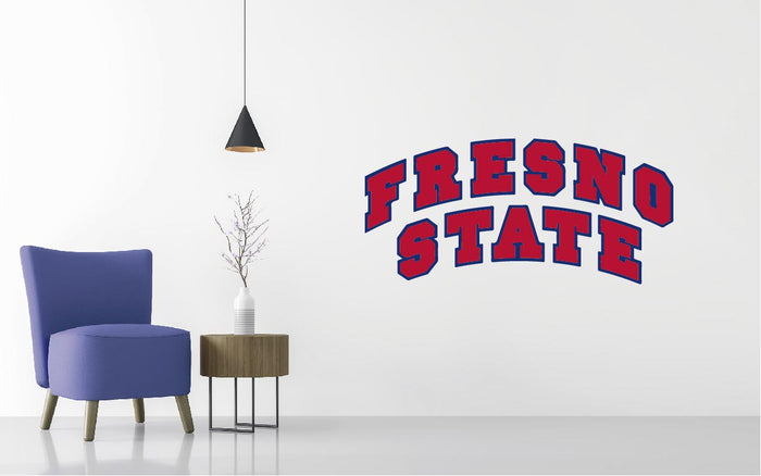 Fresno State Basketball NCAA Wall decal Sticker
