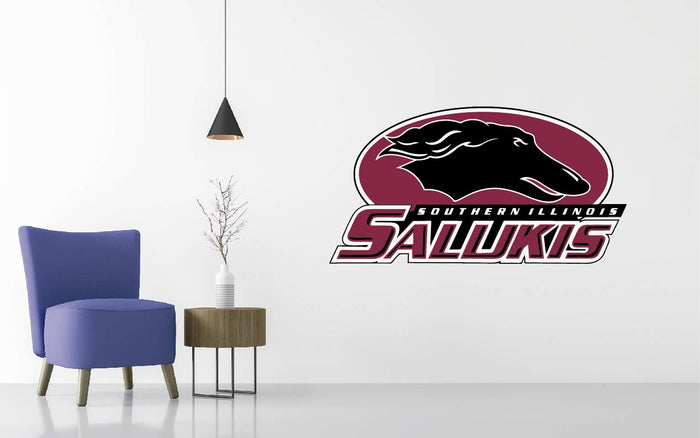 Southern Illinois Football NCAA Wall decal Sticker
