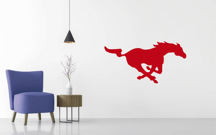 Southern Methodist Football NCAA Wall decal Sticker