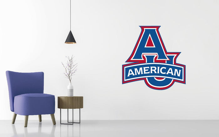American University Eagles Basketball NCAA Wall decal Sticker