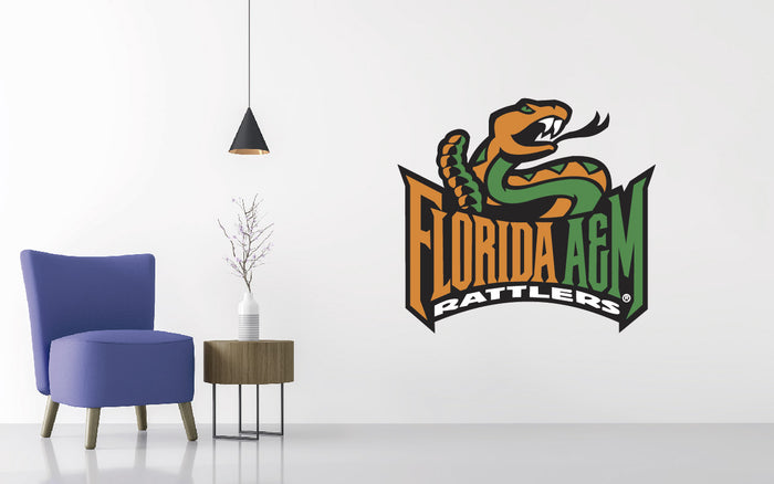 Florida A&M Rattlers Football NCAA Wall decal Sticker