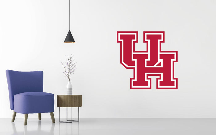 Houston Cougars Basketball NCAA Wall decal Sticker