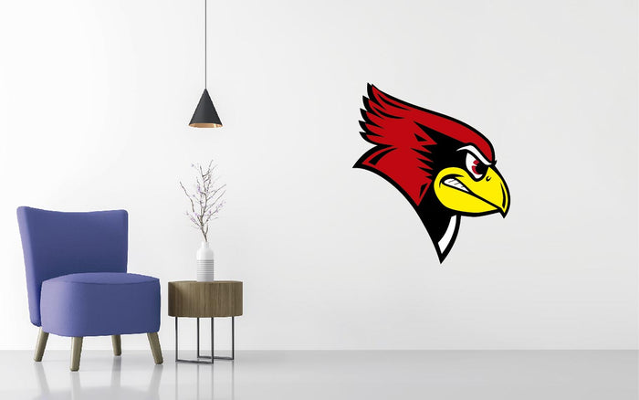Illinois State Basketball NCAA Wall decal Sticker