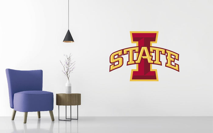 Iowa State Cyclones Basketball NCAA Wall decal Sticker