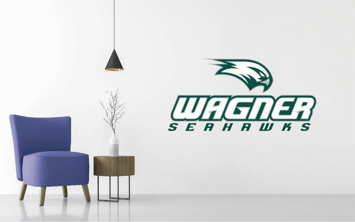 Wagner Seahawks Football NCAA Wall decal Sticker