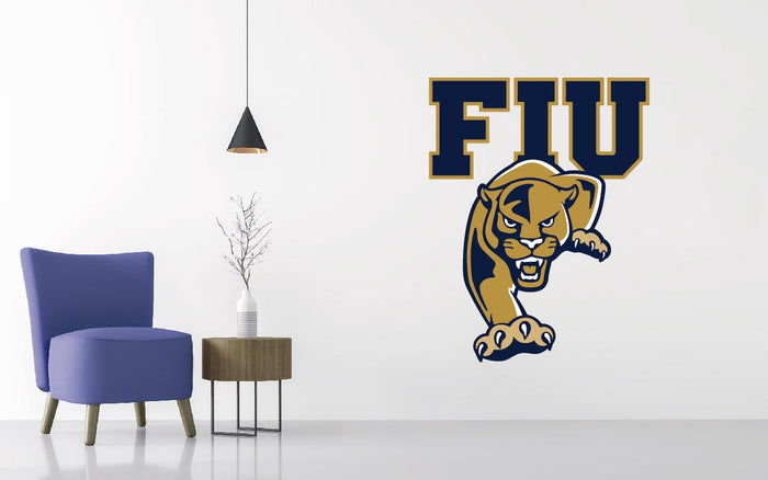 Florida International Football NCAA Wall decal Sticker