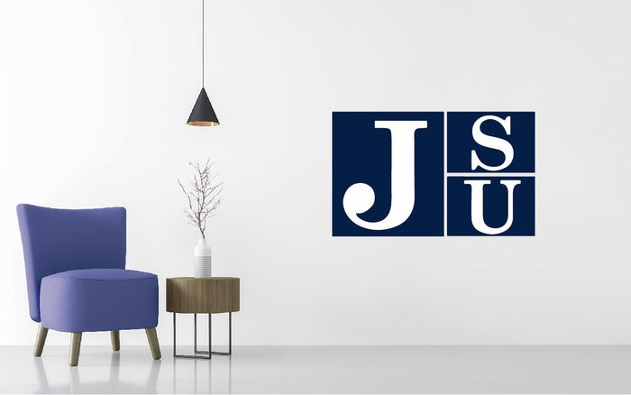 Jackson State Tigers Basketball NCAA Wall decal Sticker